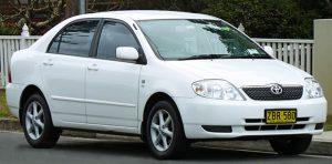 Toyota Corolla Generation 9