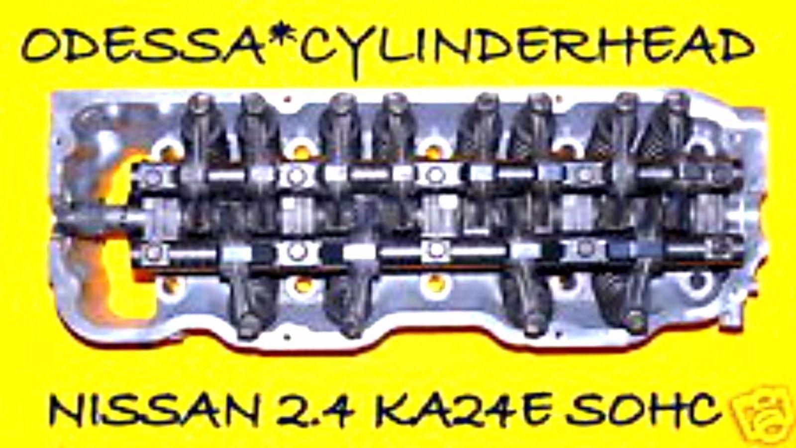 Nissan 240sx D21 Pickup 2 4 Sohc Cylinder Head