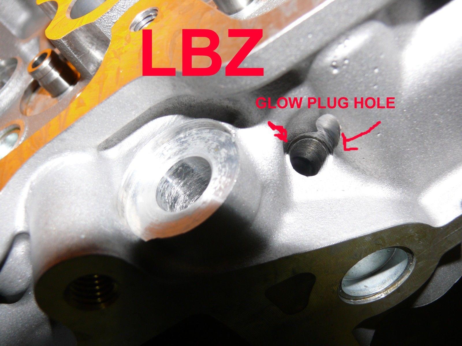 NEW 2 GM GMC 6 6 OHV DURAMAX DIESEL LBZ CYLINDER HEADS VIN CODE