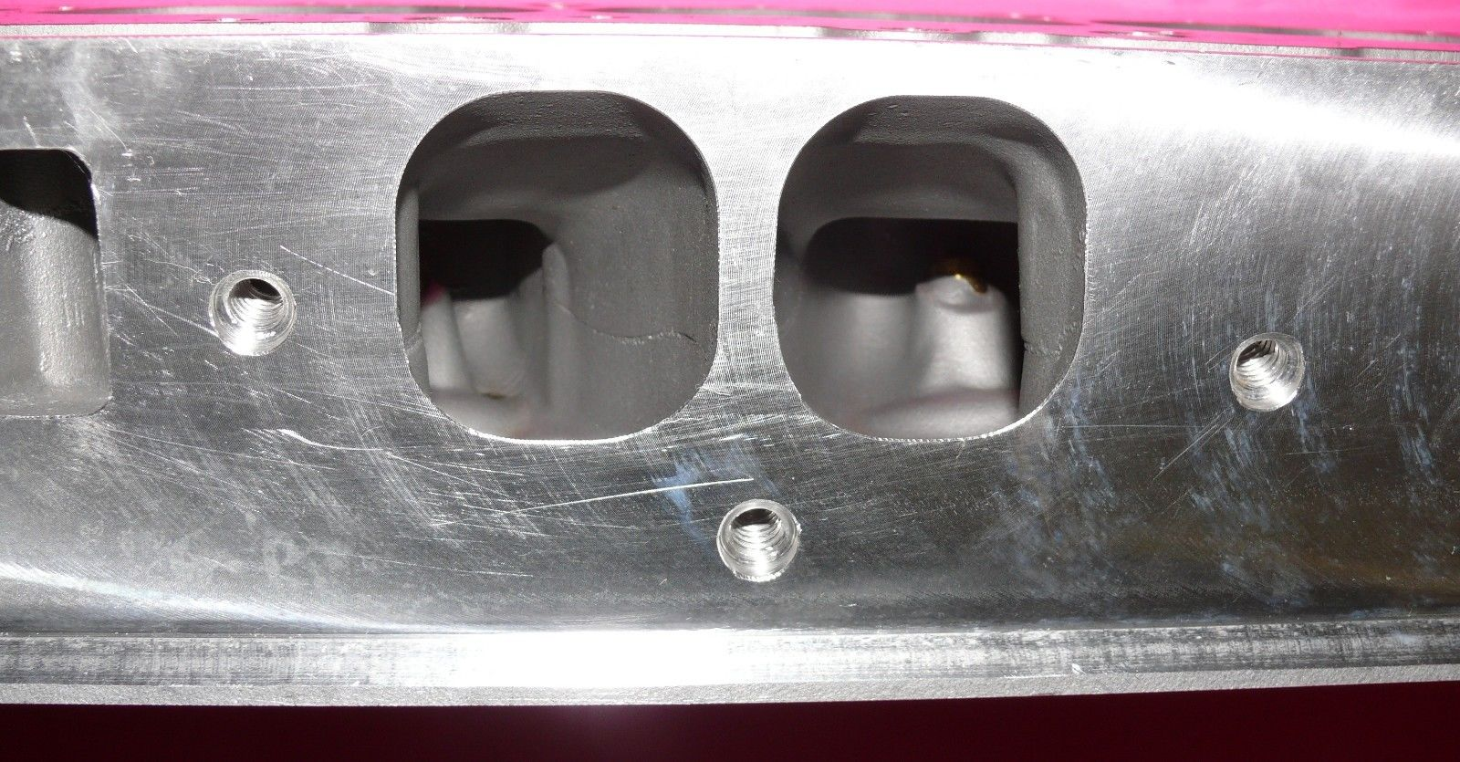 NEW PAIR GM BBC CHEVY ALUMINUM CYLINDER HEADS 396 427 454 OVAL PORTS NO CORE