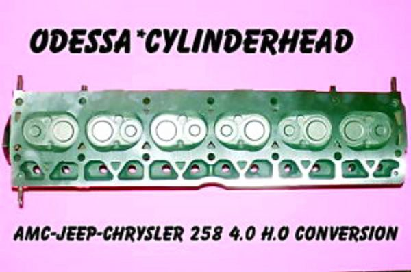 4.0 Conversion Cylinder Head