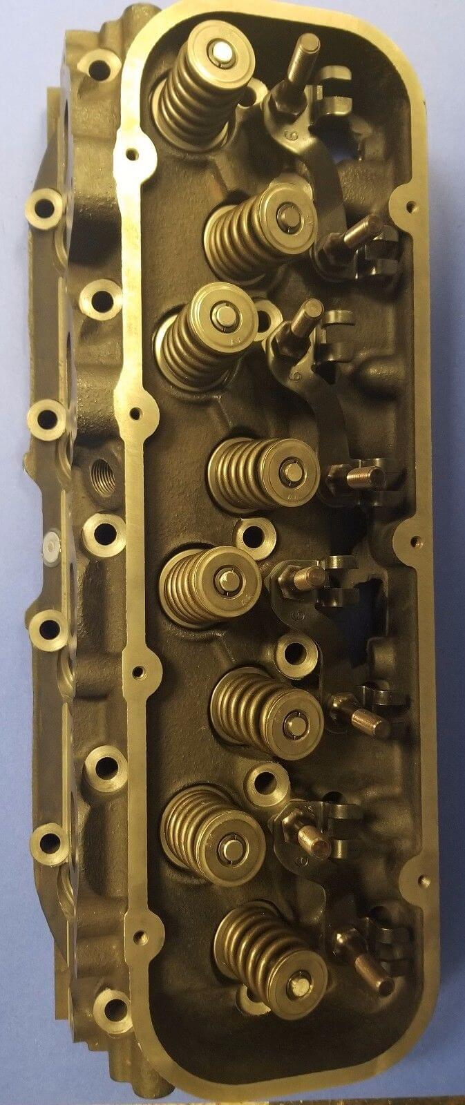 NEW GM MARINE BBC 7 4 454 OVAL PORT CONVERSION CYLINDER HEAD CAST#236 360  045