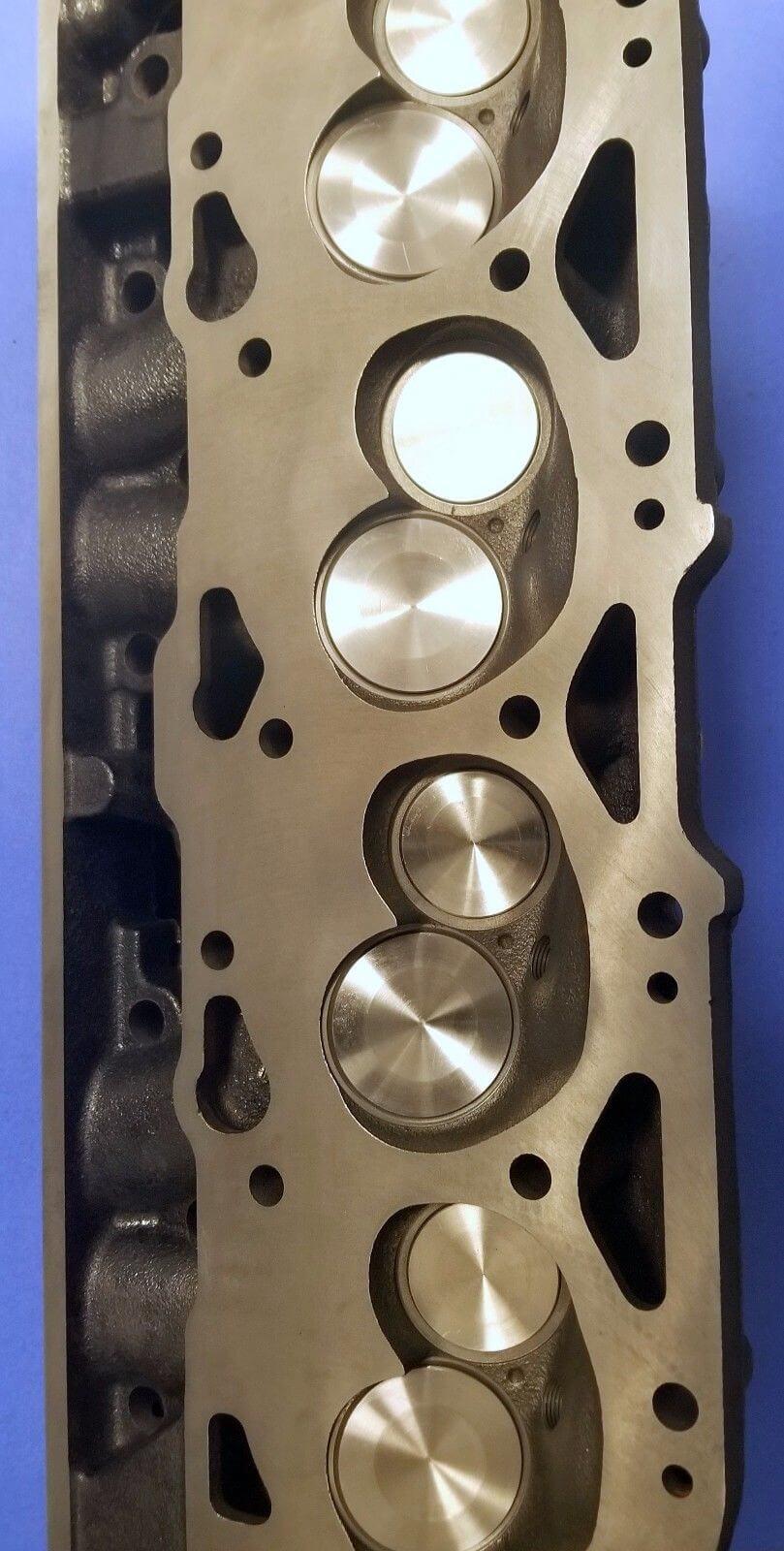 NEW GM MARINE BBC 7 4 454 OVAL PORT CONVERSION CYLINDER HEAD CAST#236 360  045