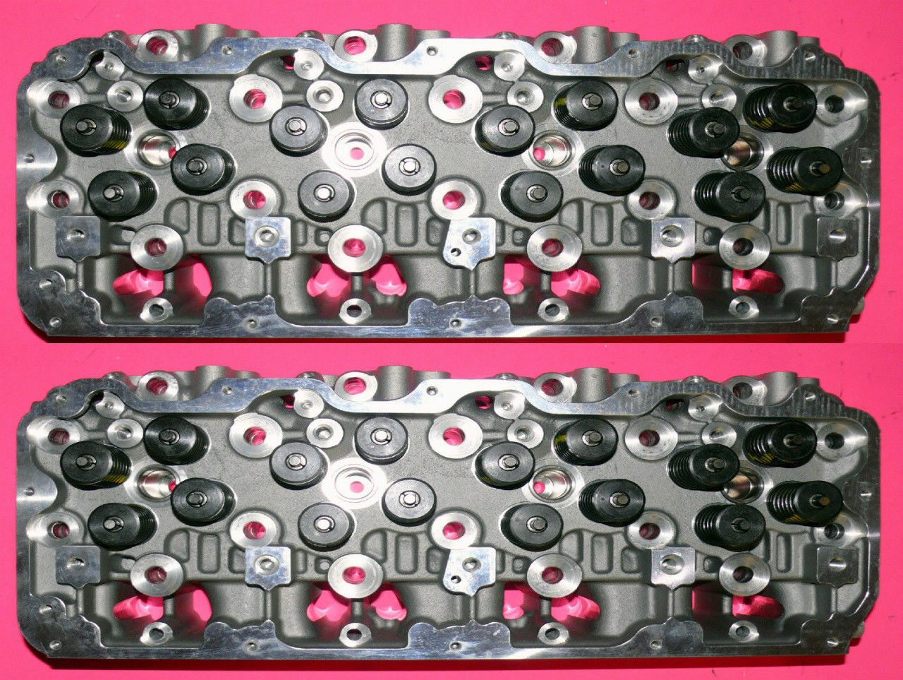 NEW 2 GM CHEVROLET DURAMAX 6.6 LB7 SEL CYLINDER HEADS 2001-2004.5 NO Aftermarket Jeep Cylinder Head on