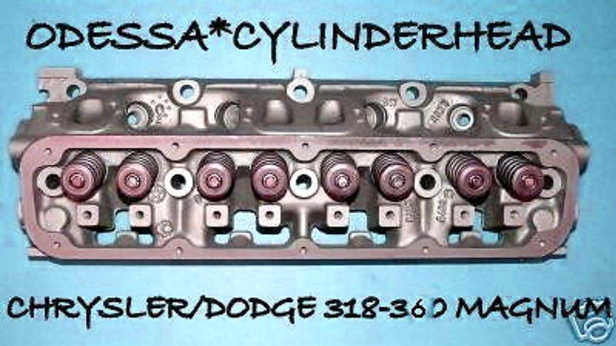 CHRYSLER DODGE DURANGO WAGONEER 5 2 5 9 OHV 318 360 CYLINDER HEAD 92-04  REBUILT