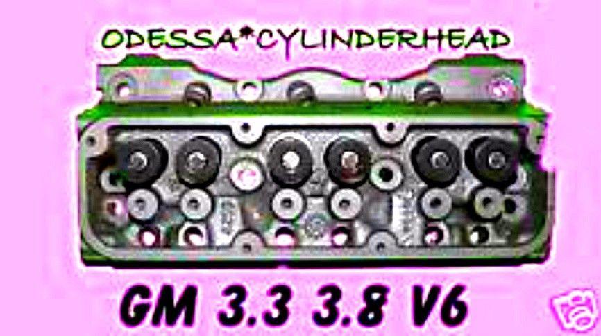 PONTIAC BONNEVILLE 3.3 3.8  V-6  CYLINDER HEAD