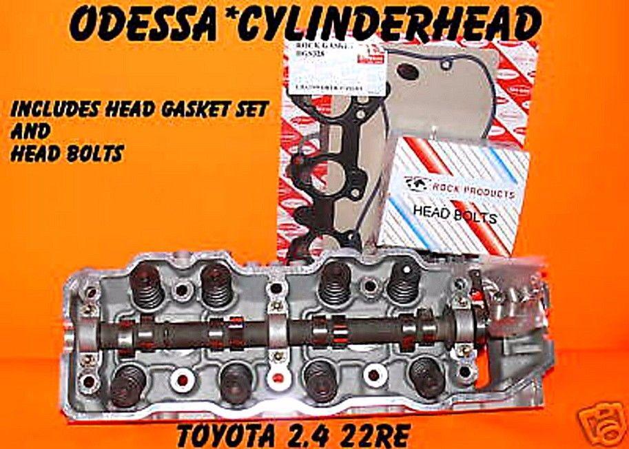 NEW TOYOTA PICKUP 4RUNNER CELICA 2 4 SOHC 22RE CYLINDER HEAD GASKET SET &  BOLTS