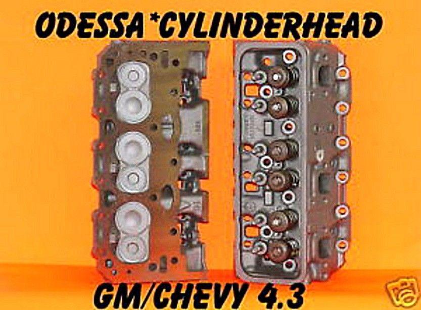 2 GM CHEVY S10 ASTRO VAN 4 3 CYLINDER HEADS VORTEC CAST # 113 & 114 ONLY  REBUILT