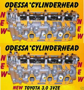 NEW PAIR 3 0 SOHC 3VZE TOYOTA 4RUNNER T100 PICKUP CYLINDER HEADS