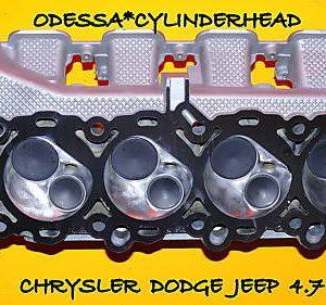 AMC JEEP CHRYSLER 258 4 0 H O CONVERSION CYLINDER HEAD BOLTS & GASKETS  REBUILT